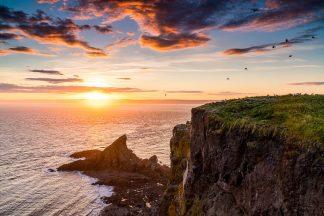 Sunset at Cape Split, Nova Scotia